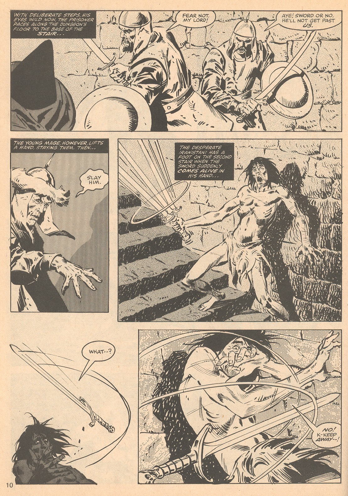 The Savage Sword Of Conan Issue #56 #57 - English 10