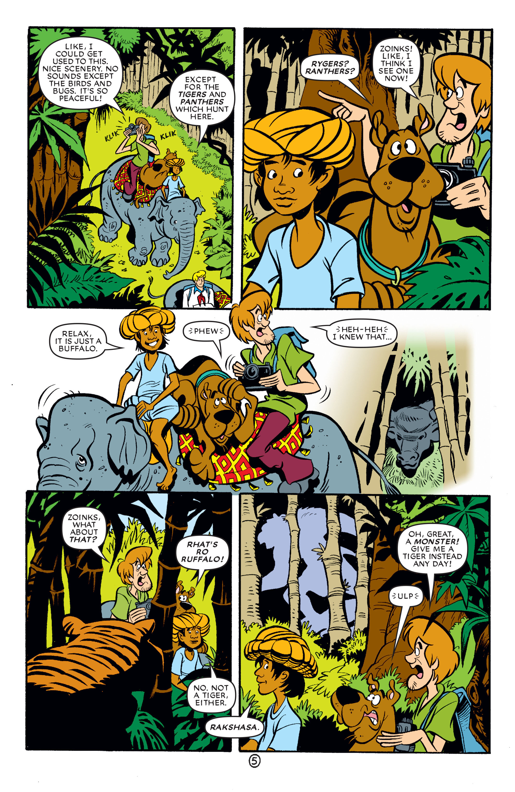 Read online Scooby-Doo (1997) comic -  Issue #63 - 16