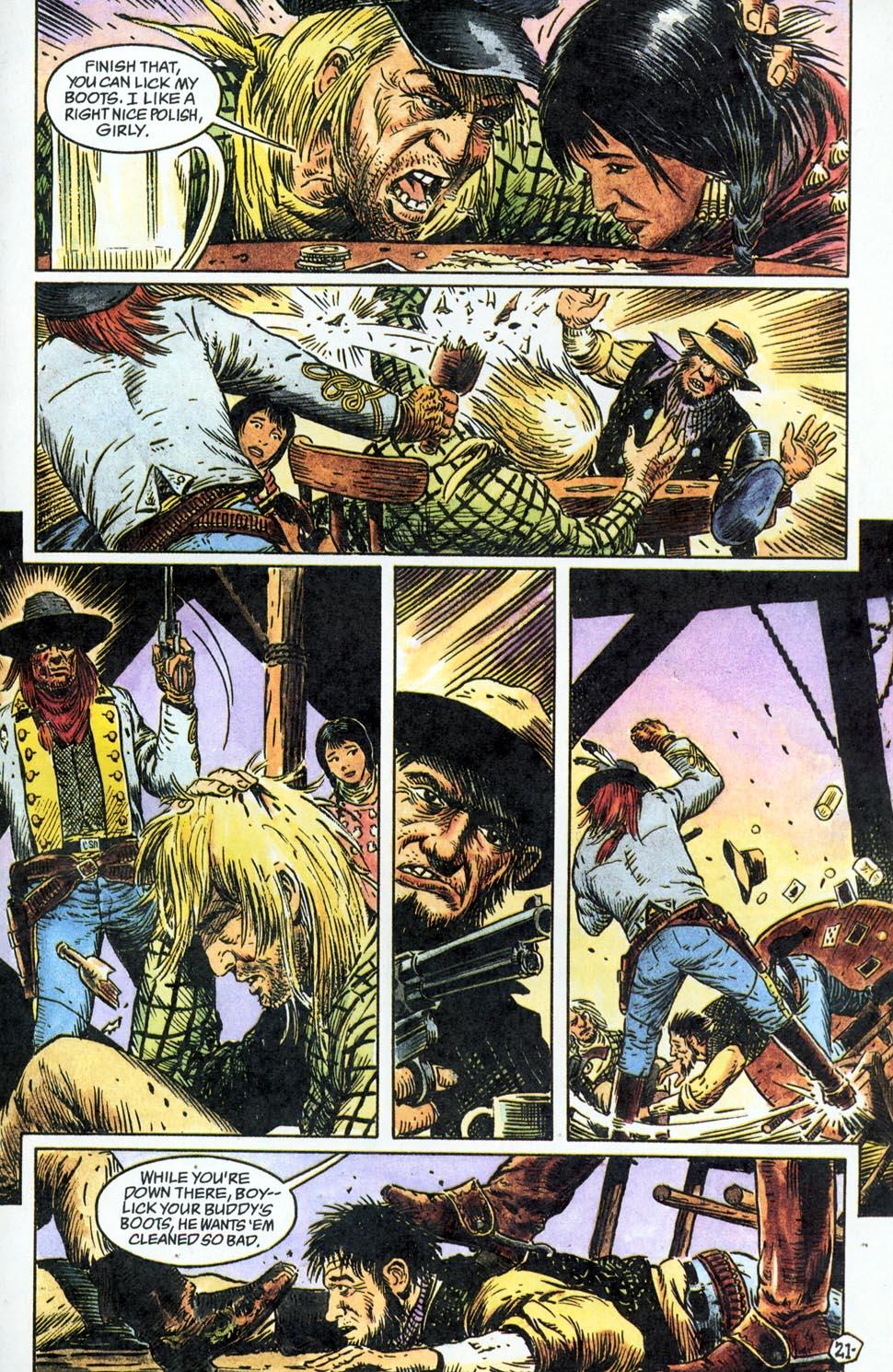 Jonah Hex: Two-Gun Mojo Issue #1 #1 - English 23