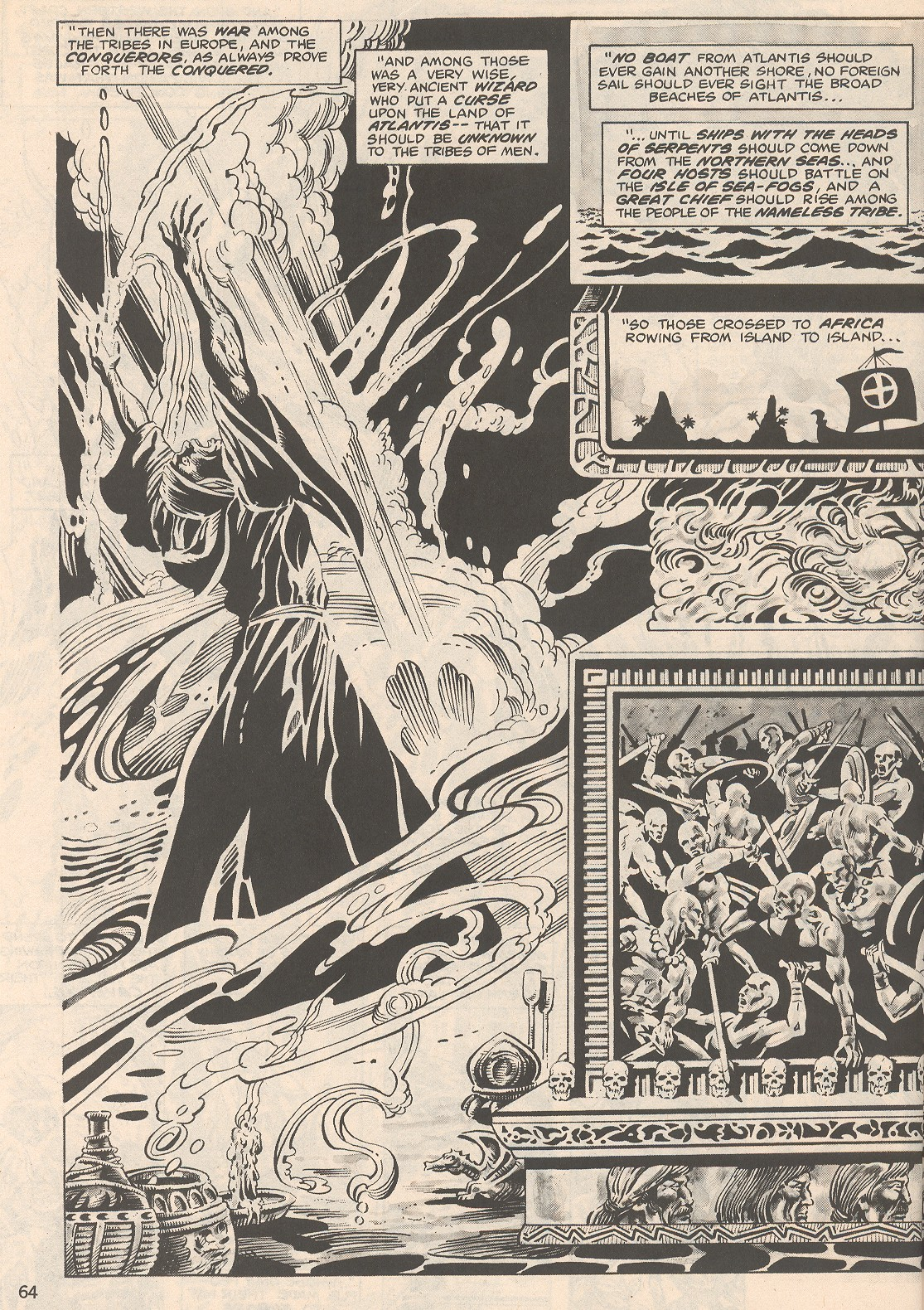 The Savage Sword Of Conan Issue #104 #105 - English 64