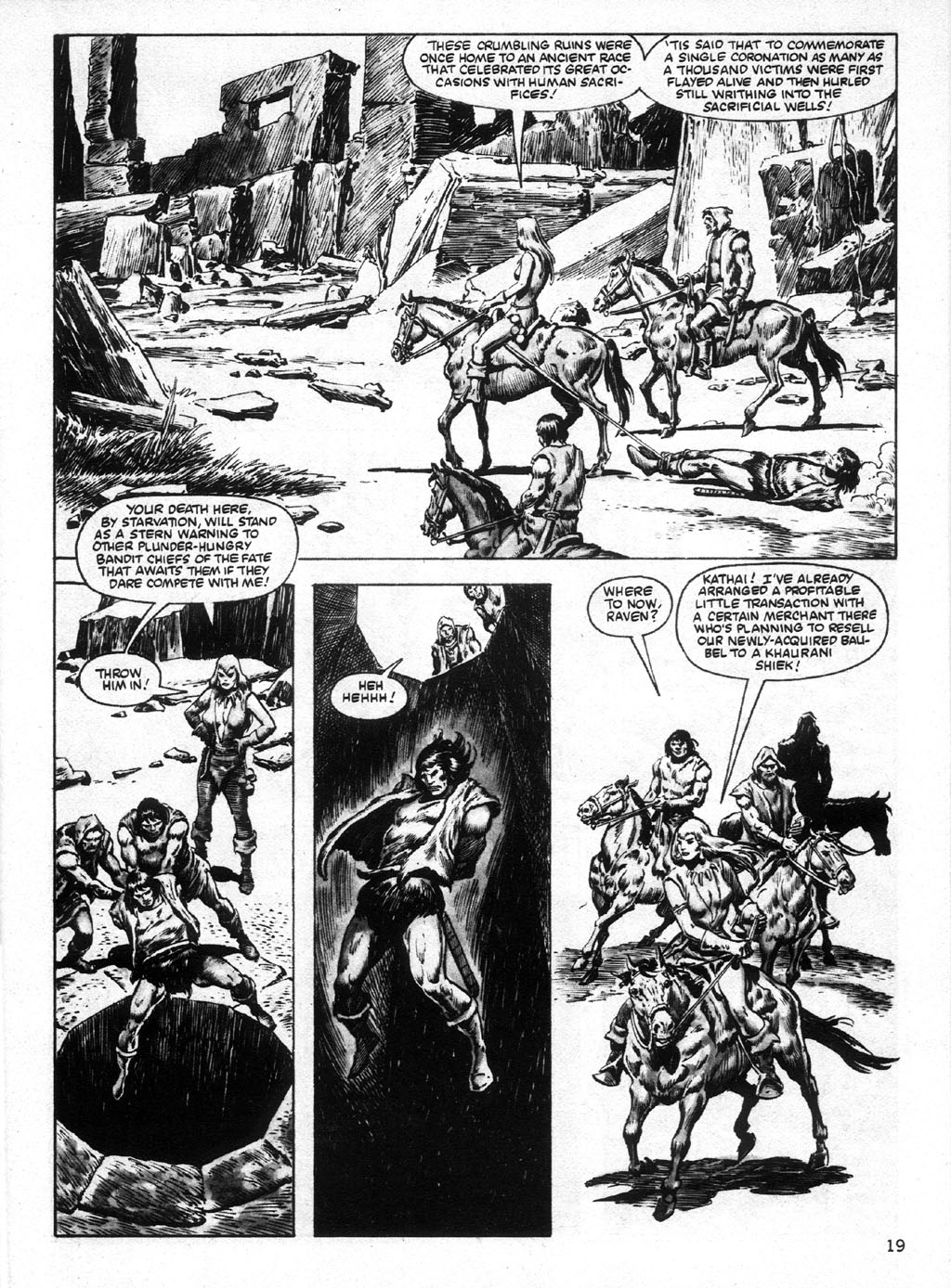 The Savage Sword Of Conan Issue #95 #96 - English 19