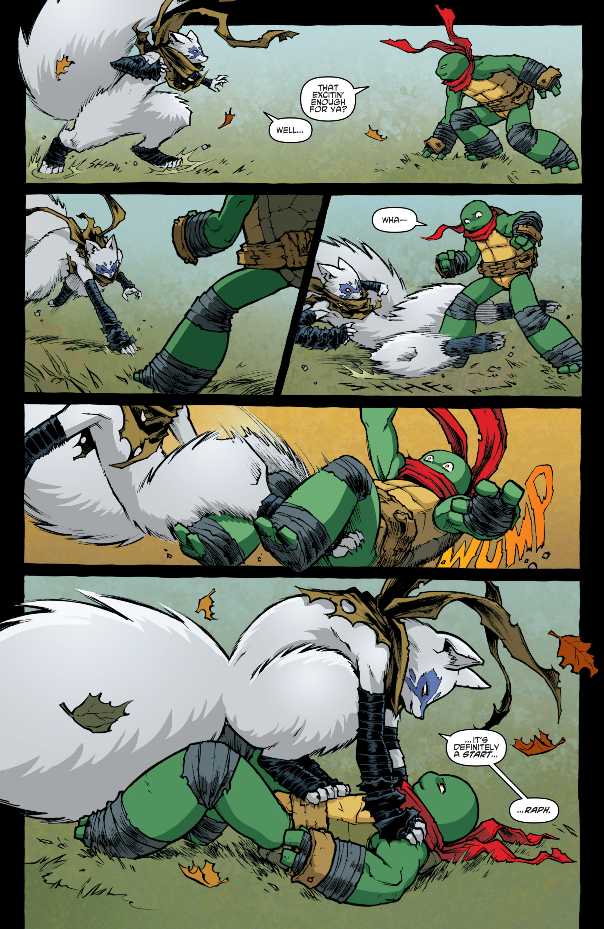 Read online Teenage Mutant Ninja Turtles (2011) comic -  Issue #31 - 10