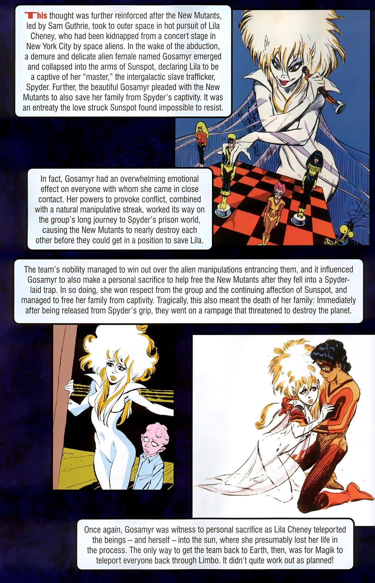 Read online New Mutants Saga comic -  Issue # Full - 28