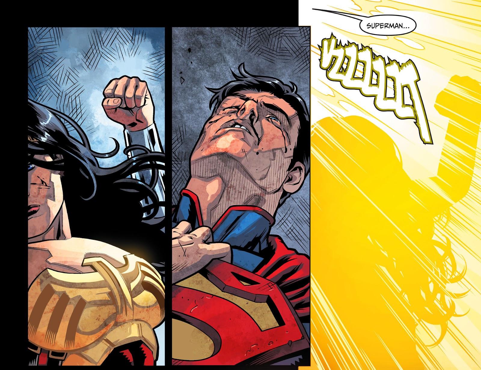 Injustice: Gods Among Us Year Four Issue #9 #10 - English 21