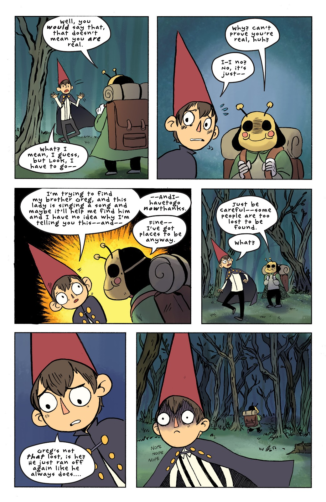 Over the Garden Wall (2016) Issue #7 #7 - English 16