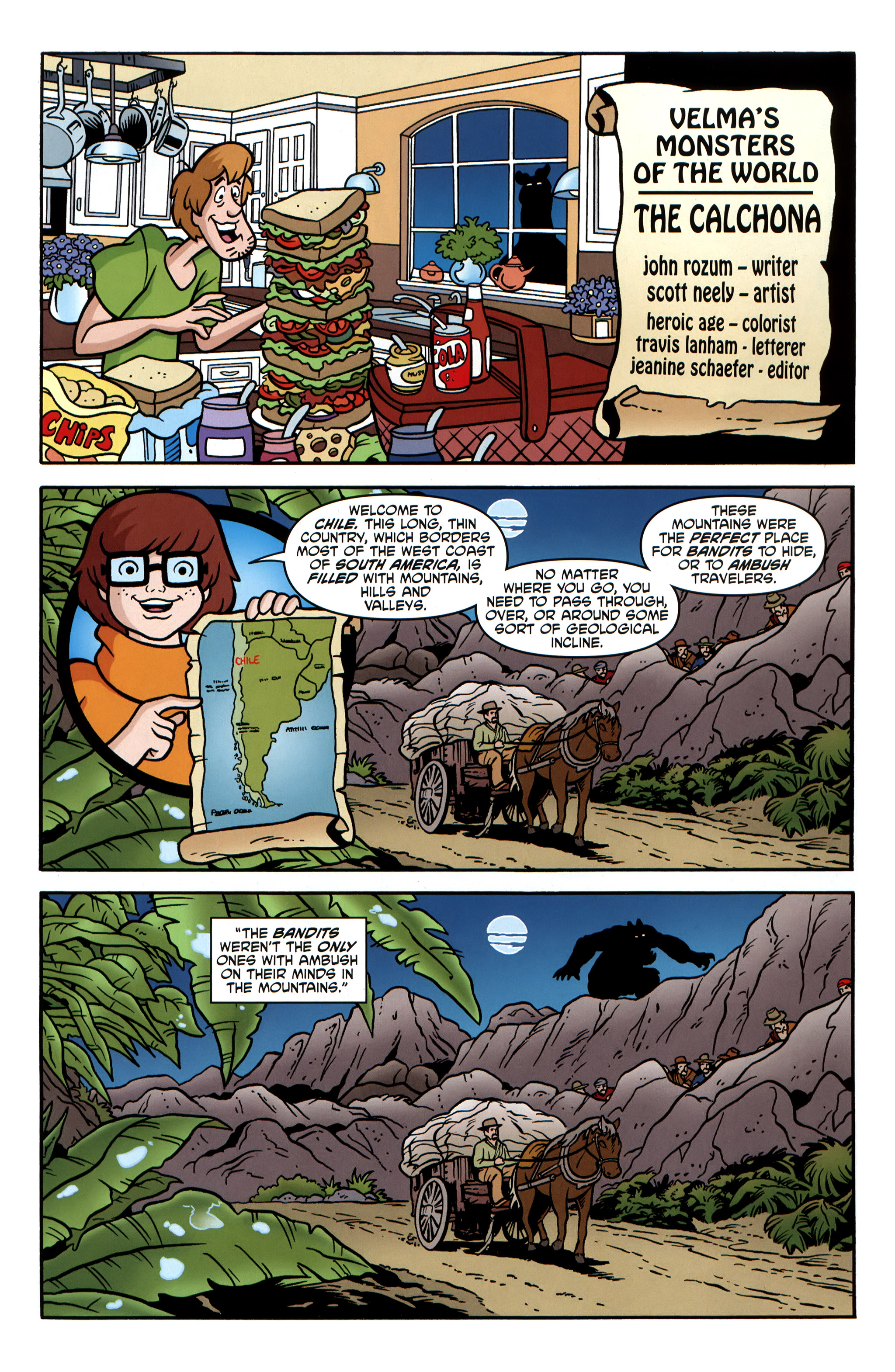 Read online Scooby-Doo: Where Are You? comic -  Issue #31 - 25