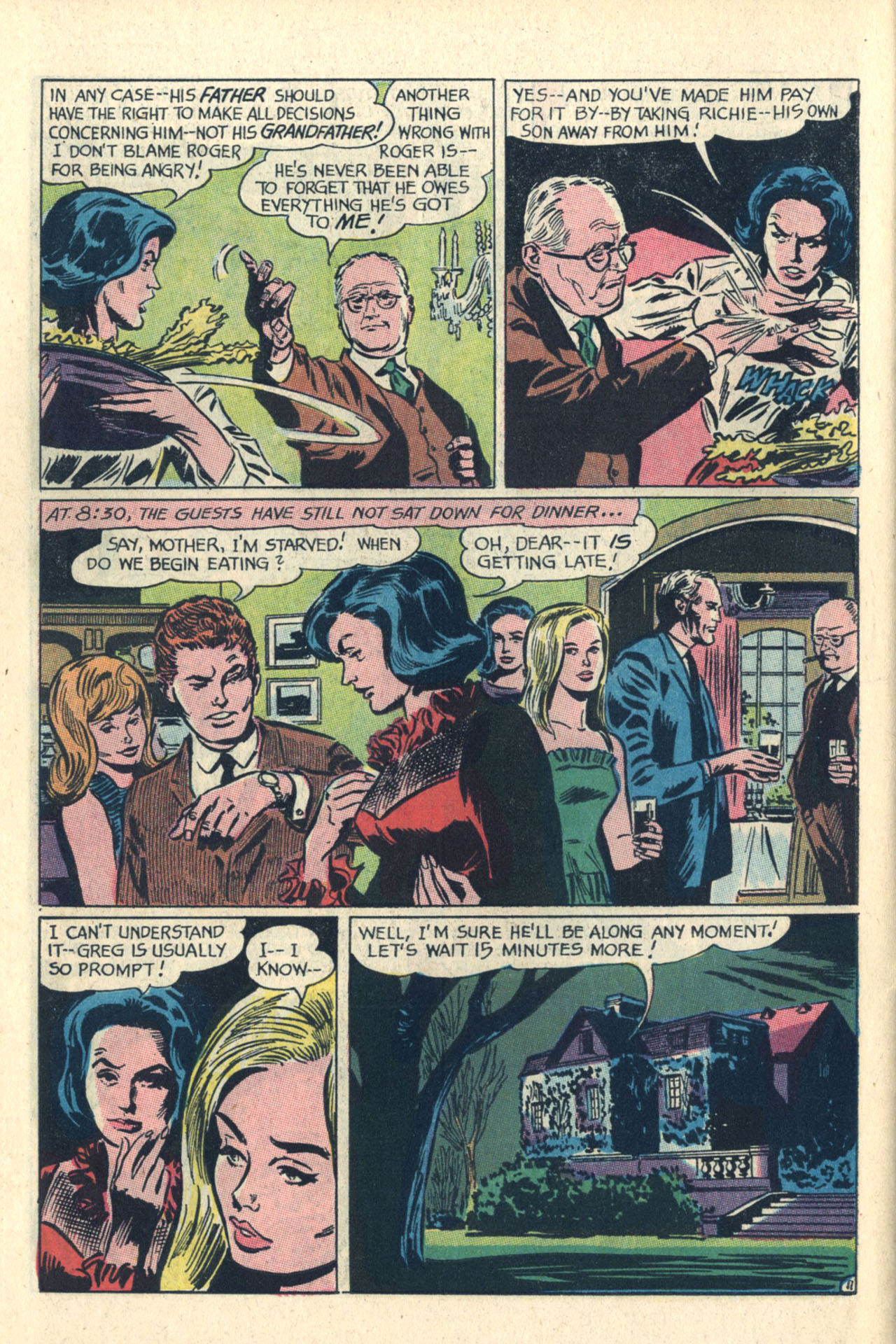Read online Secret Hearts comic -  Issue #112 - 30