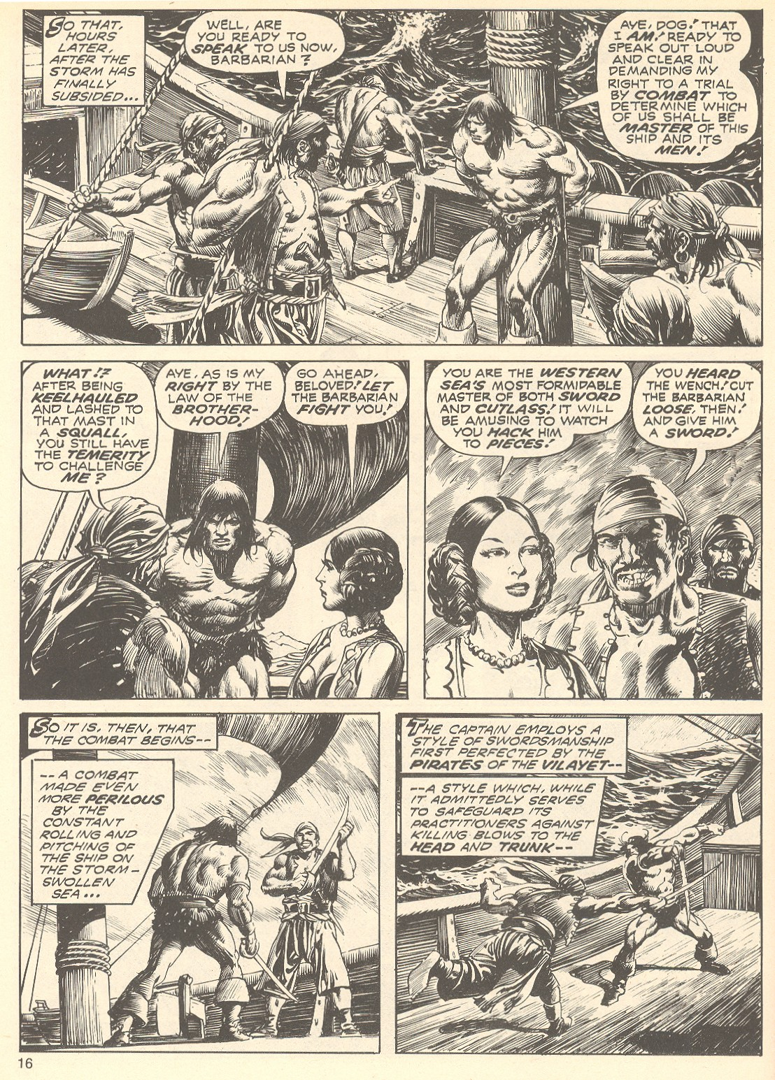 The Savage Sword Of Conan Issue #75 #76 - English 16