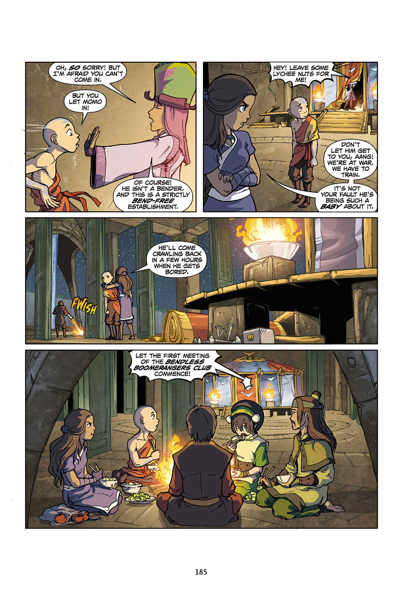 Nickelodeon Avatar: The Last Airbender - The Lost Adventures chap full pic 186