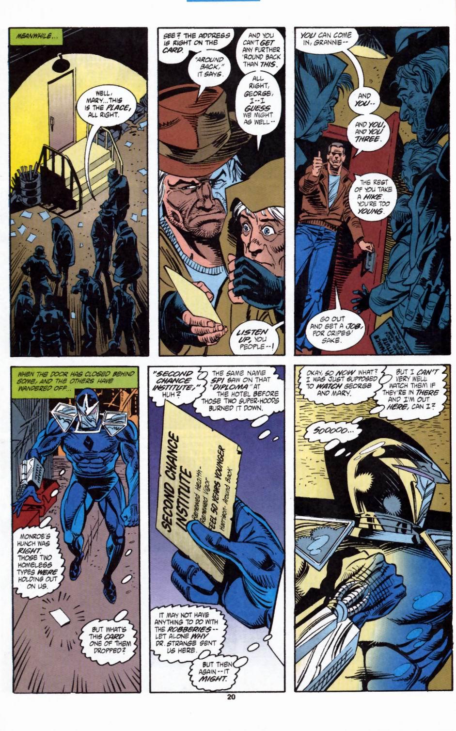 Read online Secret Defenders comic -  Issue #2 - 17