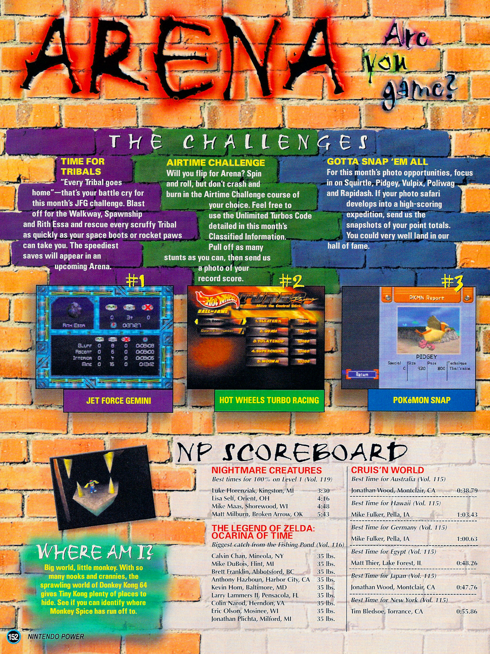 Nintendo Power #127 #127 - English 177