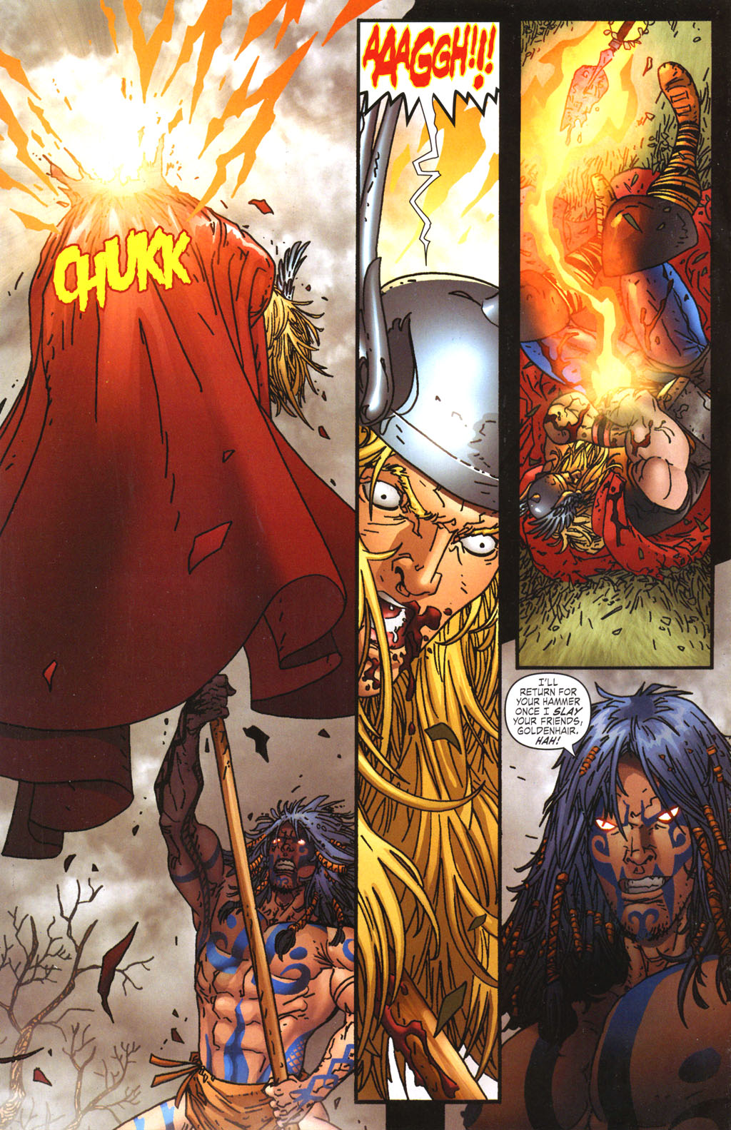 Read online Thor: Blood Oath comic -  Issue #5 - 5