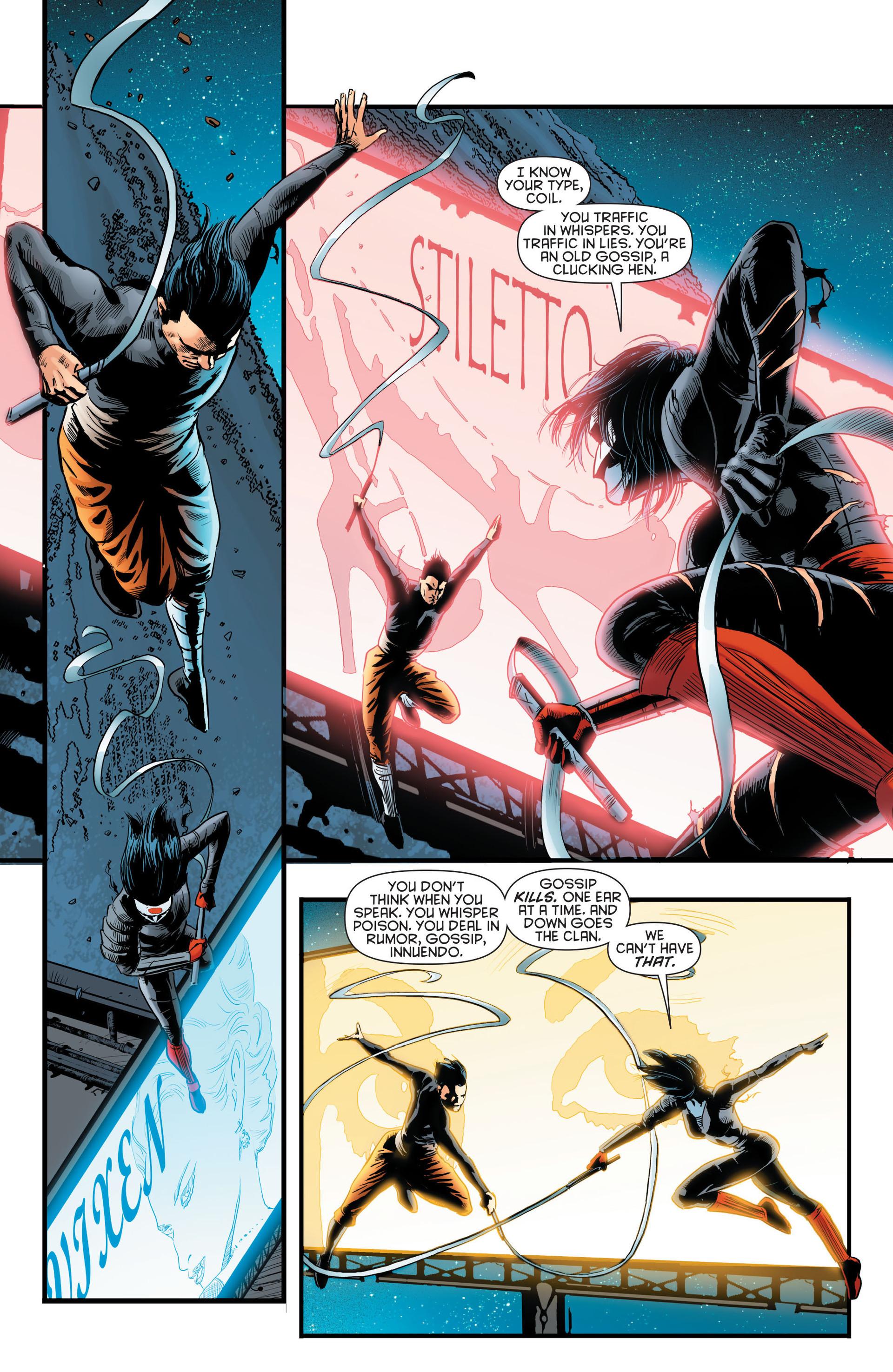 Read online Katana comic -  Issue #8 - 6