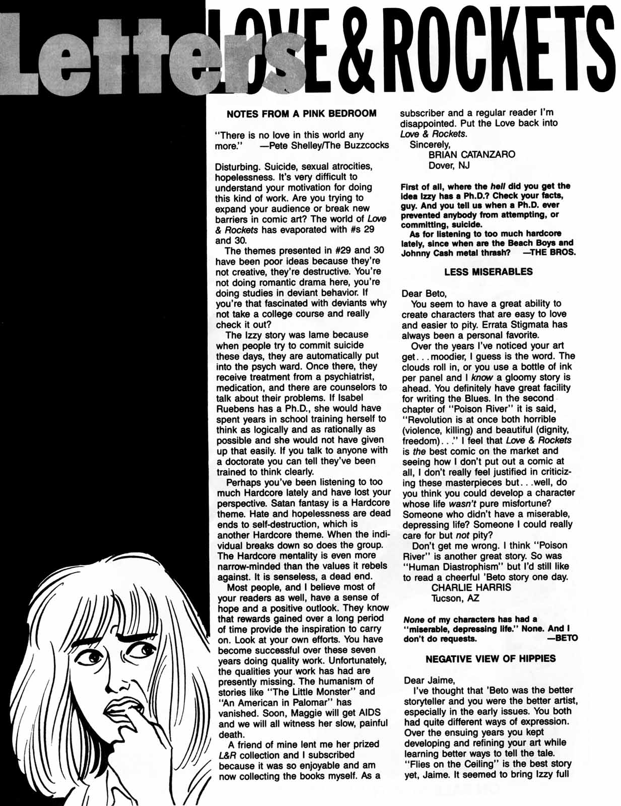 Love and Rockets (1982) Issue #31 #29 - English 34