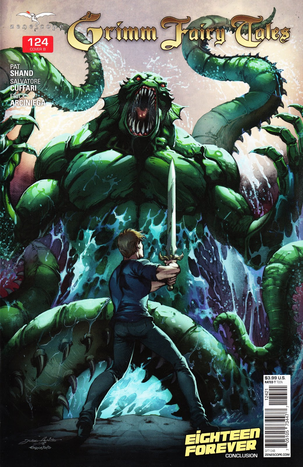 Grimm Fairy Tales (2005) Issue #124 #127 - English 2