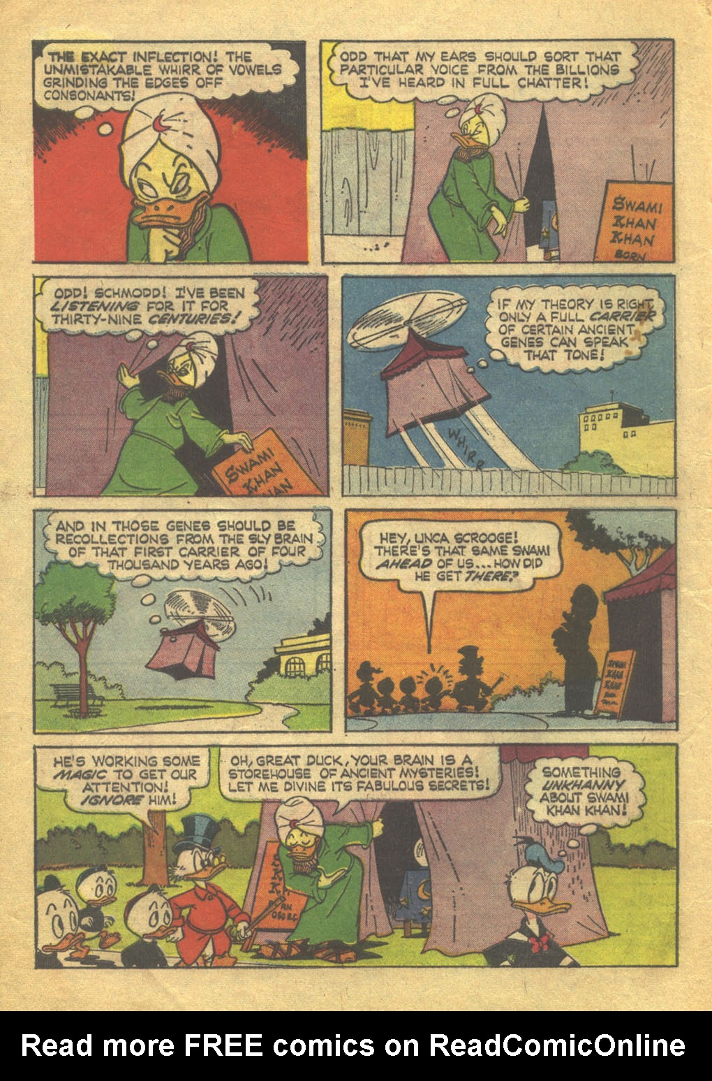 Uncle Scrooge (1953) Issue #71 #71 - English 4