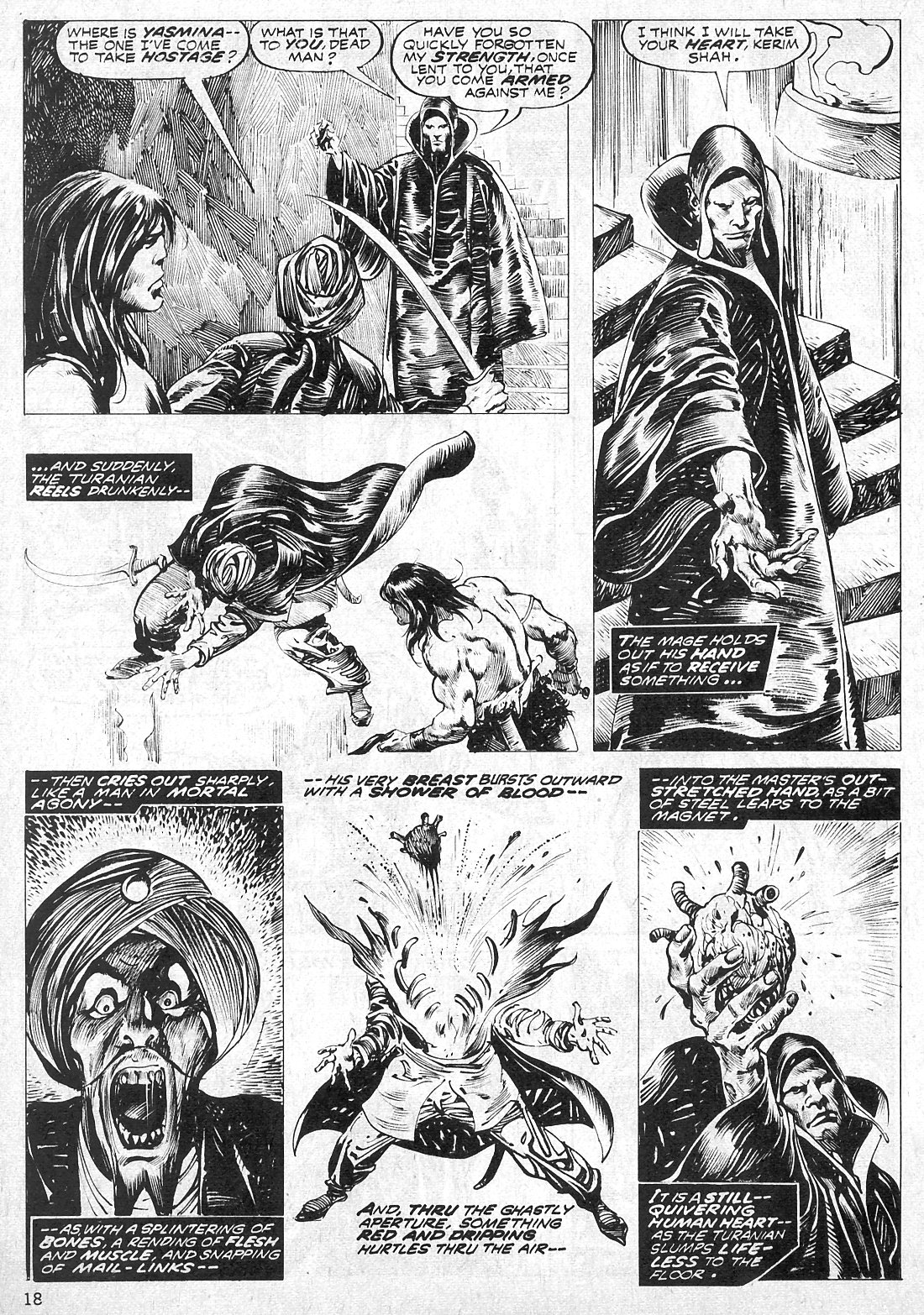 The Savage Sword Of Conan Issue #19 #20 - English 18