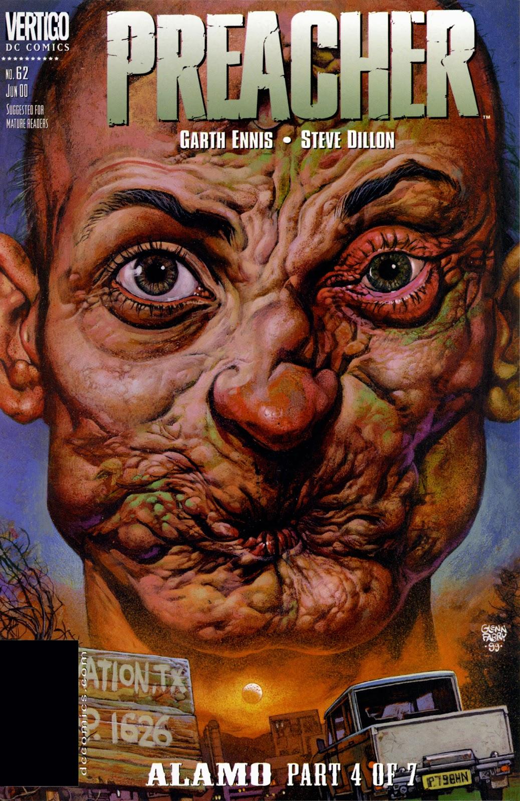 Preacher Issue #62 #71 - English 1