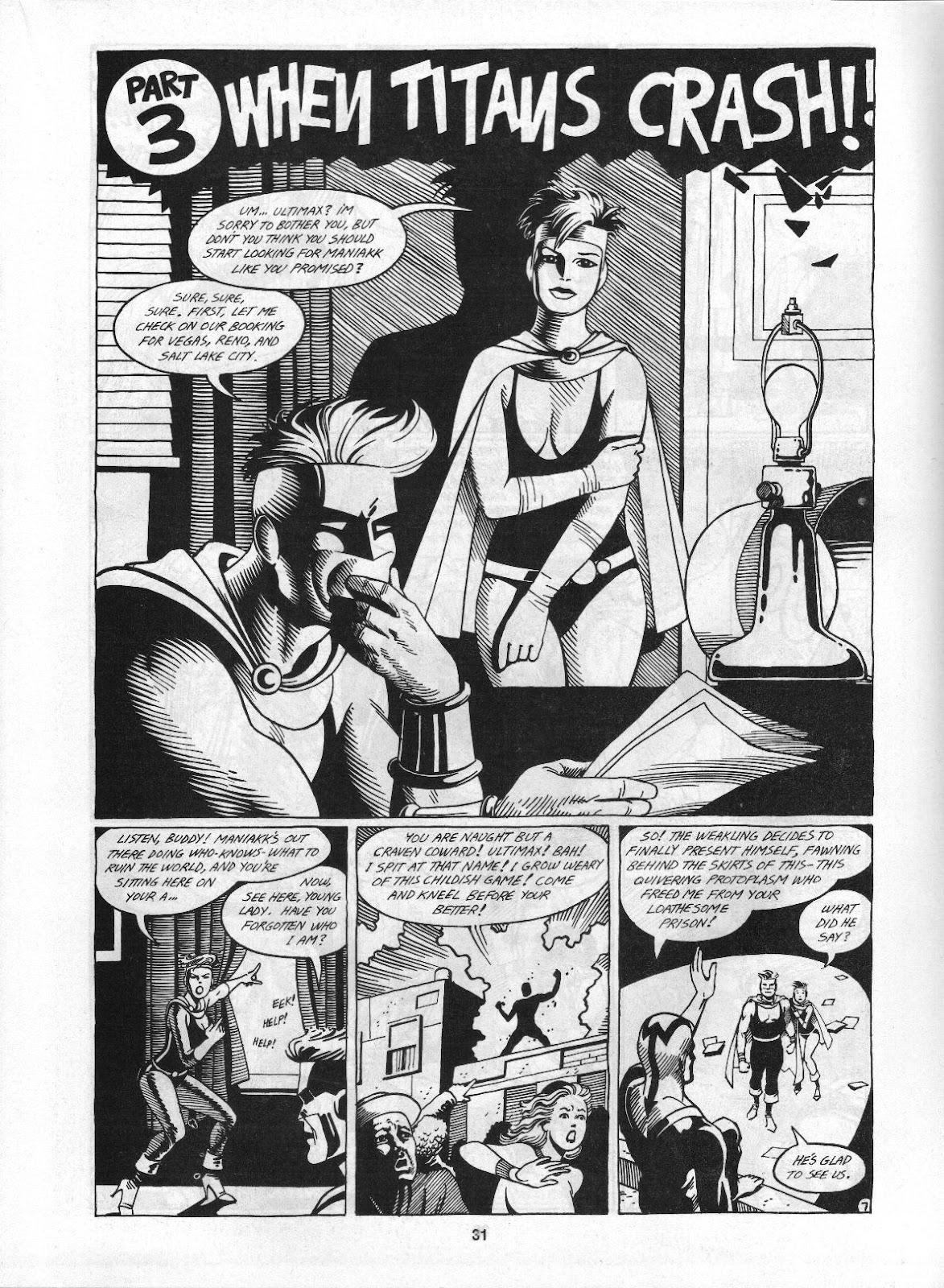 Love and Rockets (1982) Issue #3 #2 - English 33