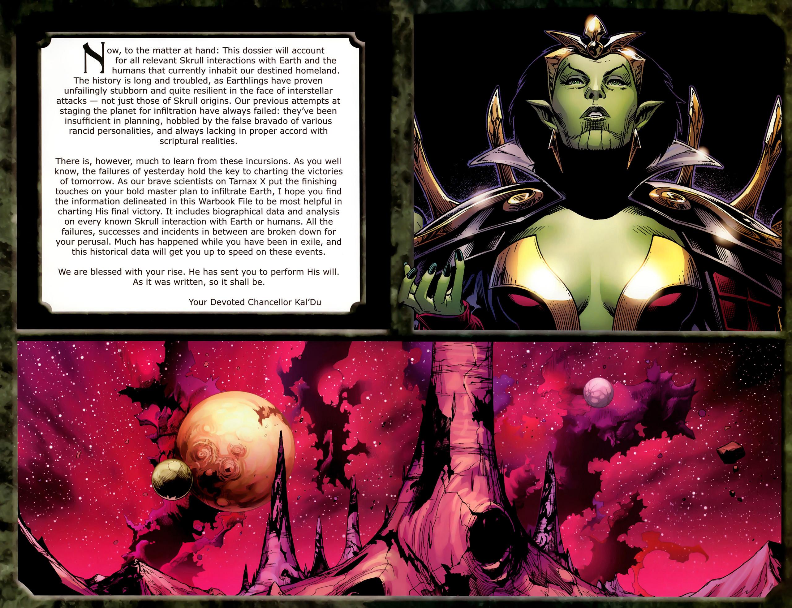 Read online Skrulls! comic -  Issue # Full - 5