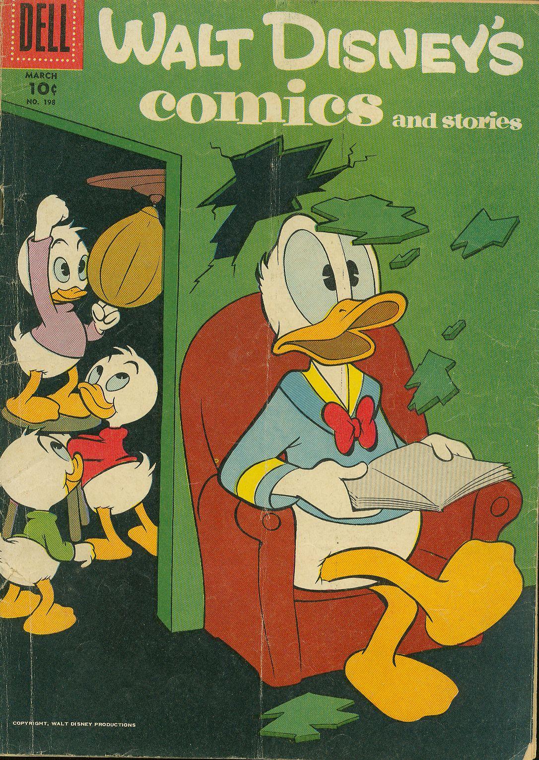 Walt Disneys Comics and Stories 198 Page 1