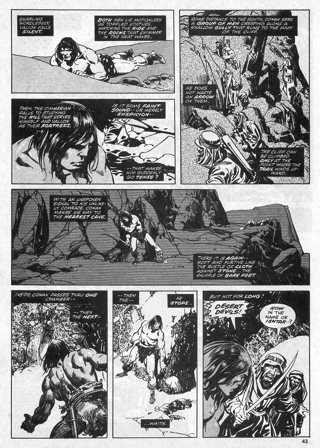 The Savage Sword Of Conan Issue #28 #29 - English 43