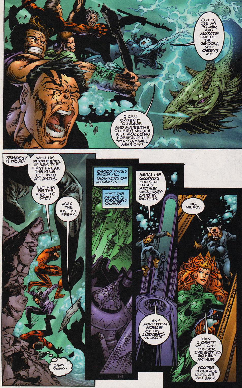 Aquaman (1994) Issue #59 #65 - English 20