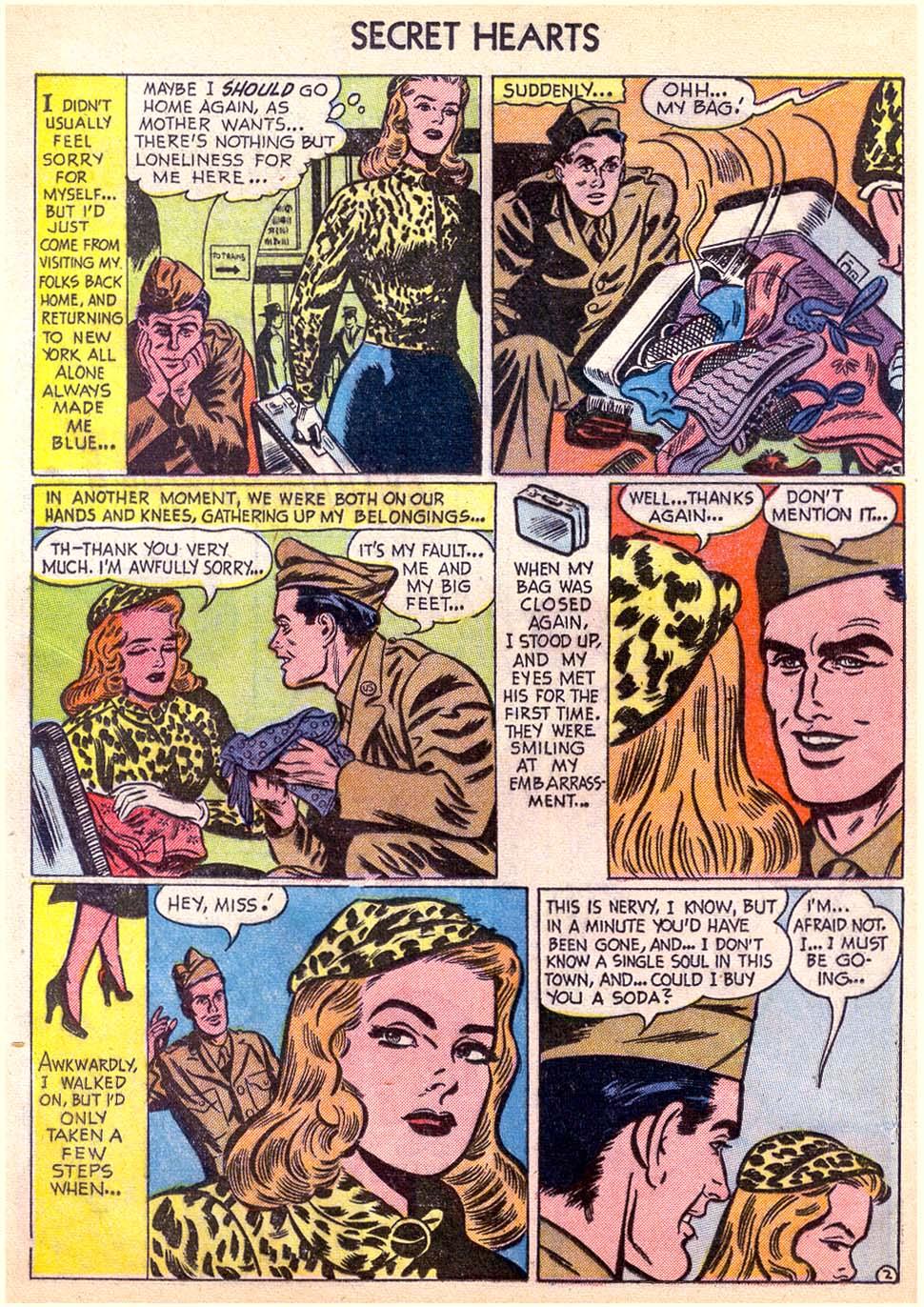 Read online Secret Hearts comic -  Issue #11 - 20