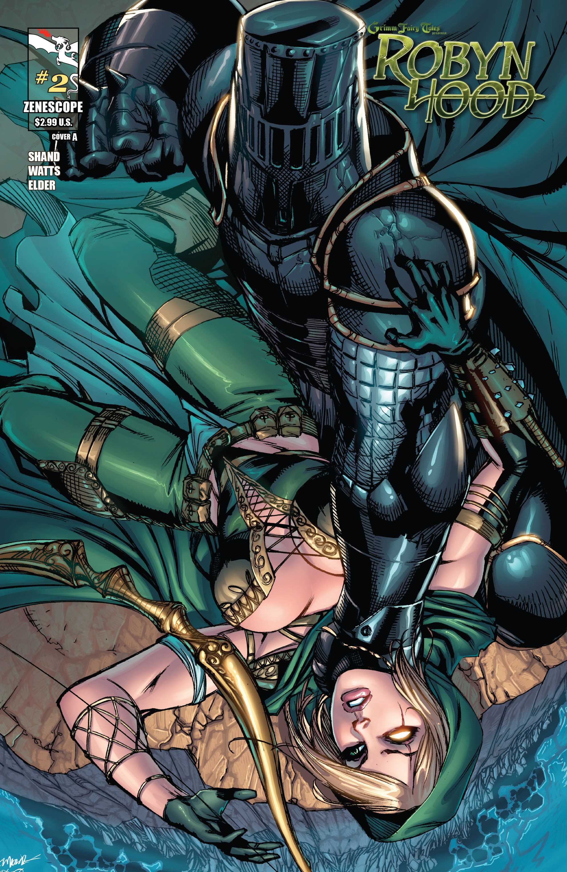 Read online Grimm Fairy Tales presents Robyn Hood (2012) comic -  Issue #2 - 1