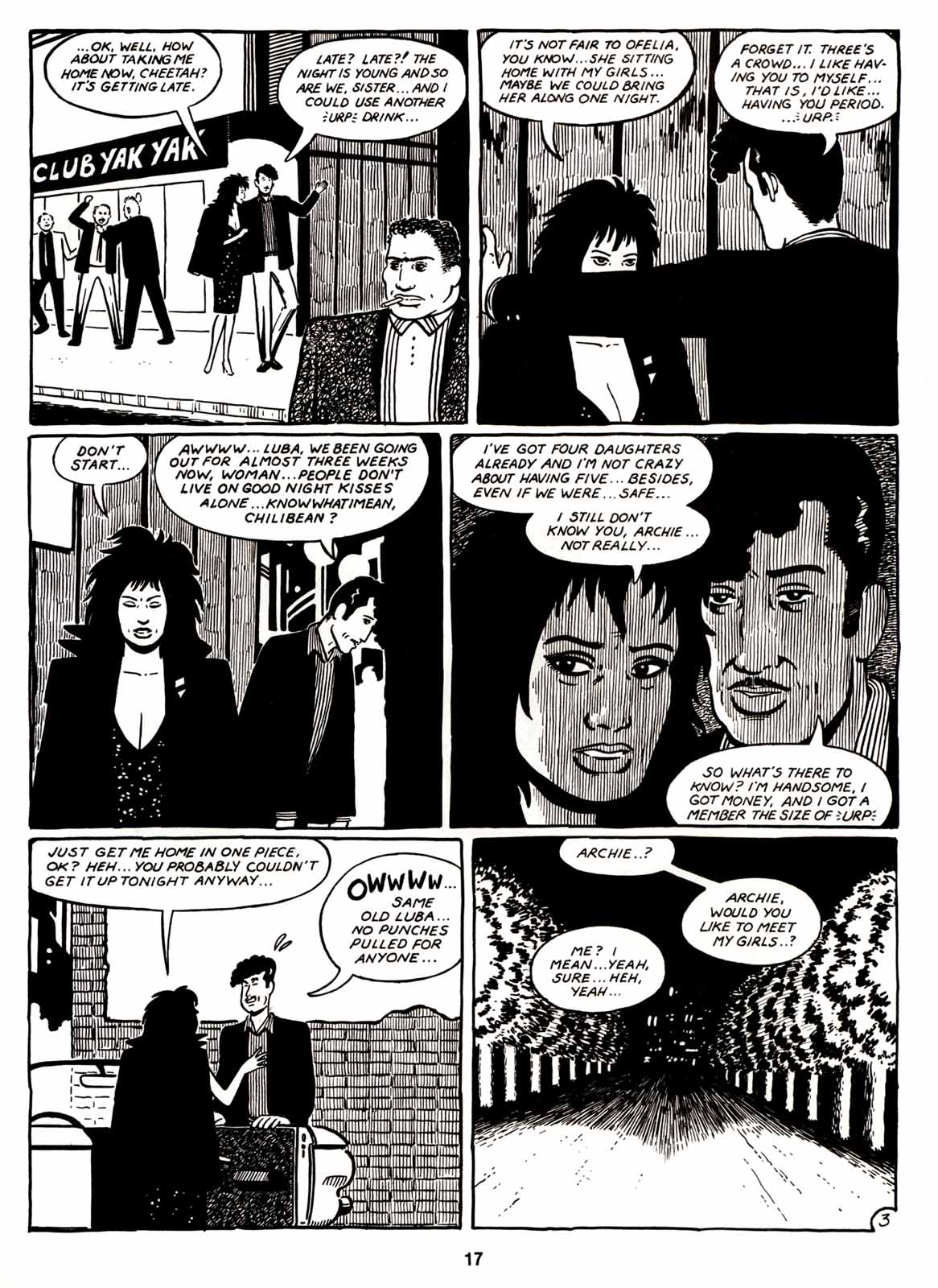 Love and Rockets (1982) Issue #6 #5 - English 19