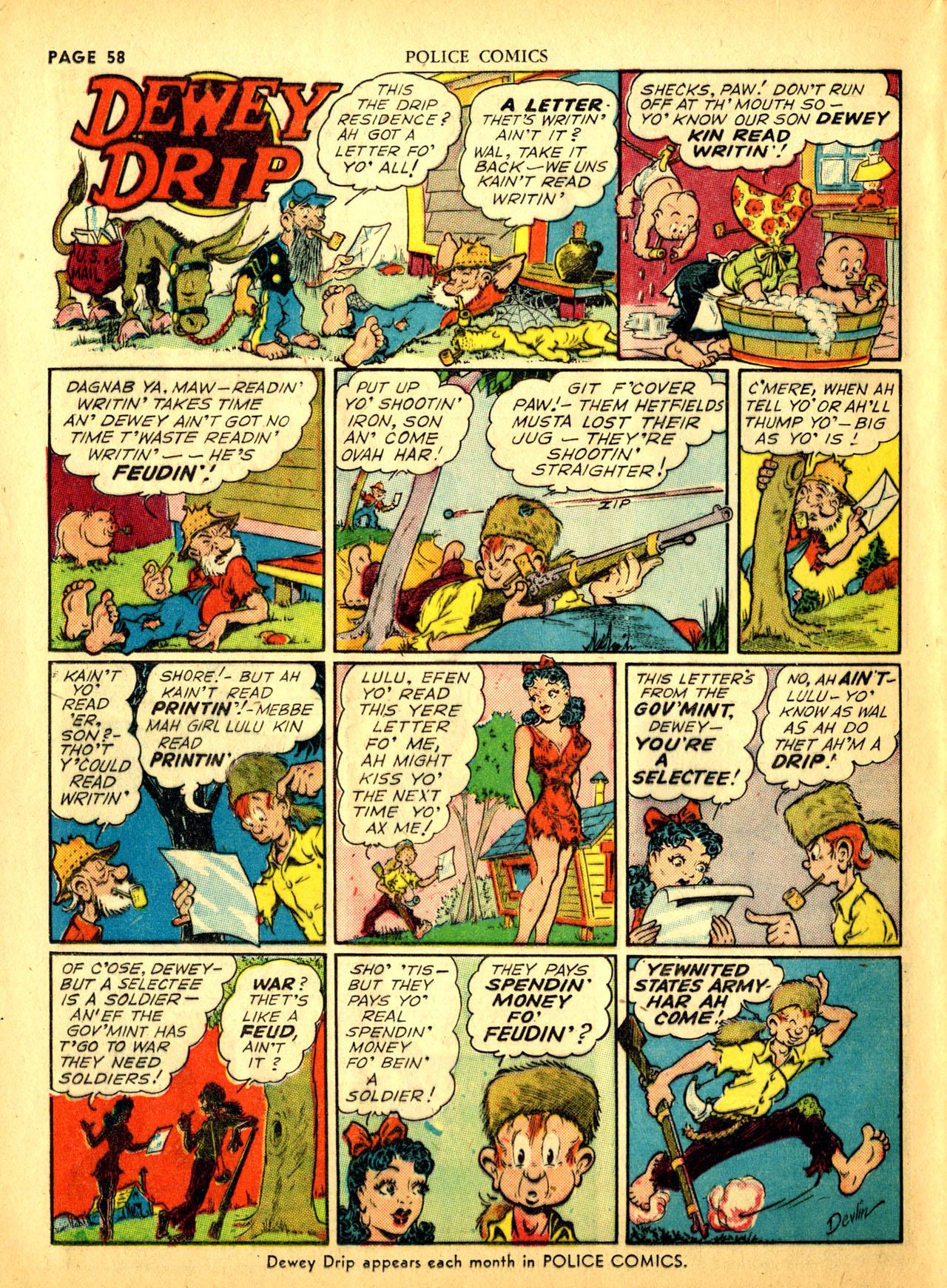 Police Comics #1 #127 - English 61