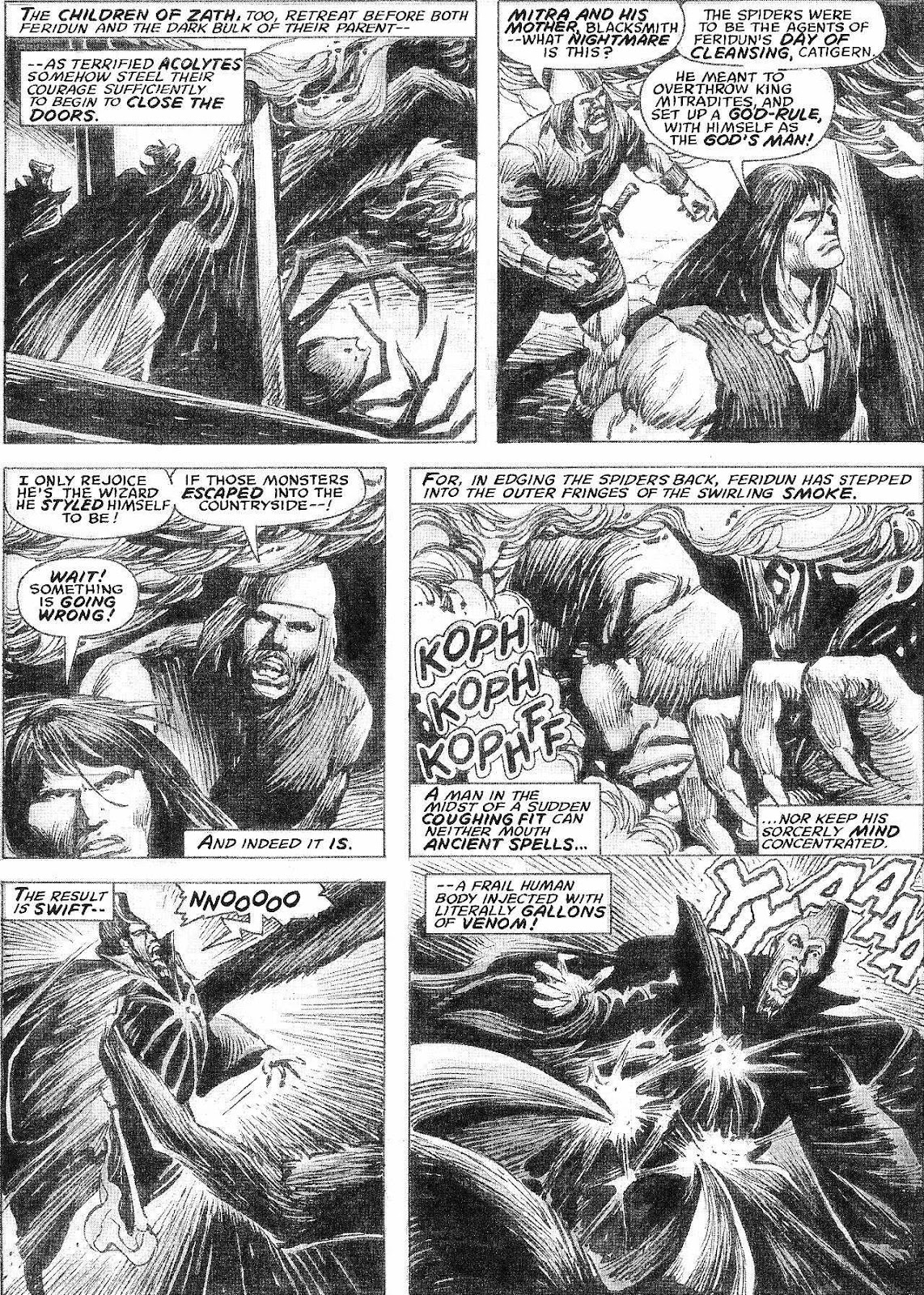 The Savage Sword Of Conan Issue #210 #211 - English 37