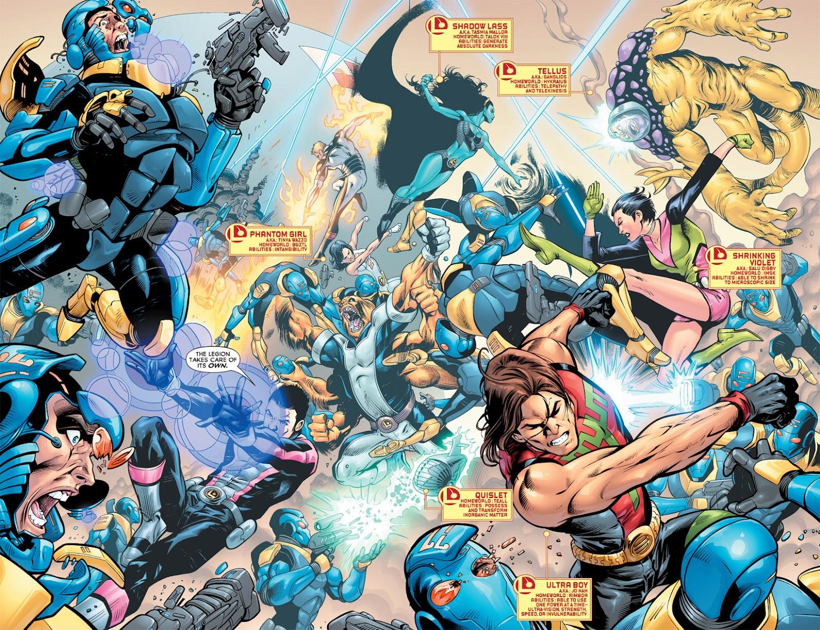 Legion of Super-Heroes (2010) Issue #5 #6 - English 24