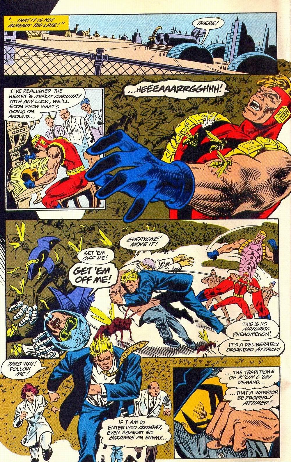 Read online Secret Defenders comic -  Issue #18 - 10
