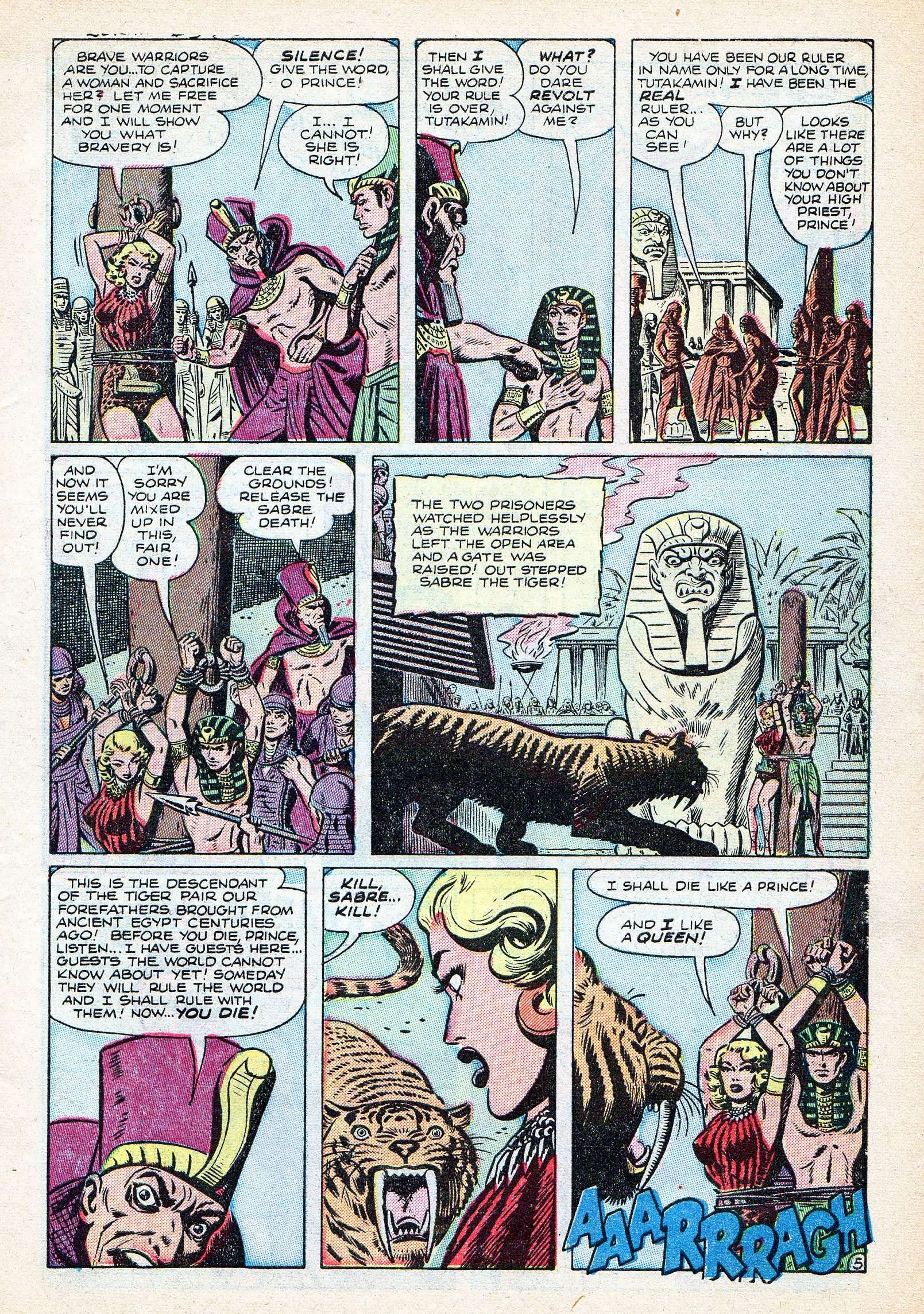 Read online Lorna, The Jungle Queen comic -  Issue #3 - 7
