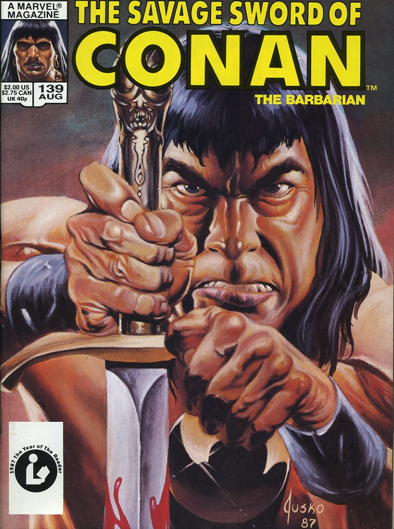 The Savage Sword Of Conan Issue #139 #140 - English 1