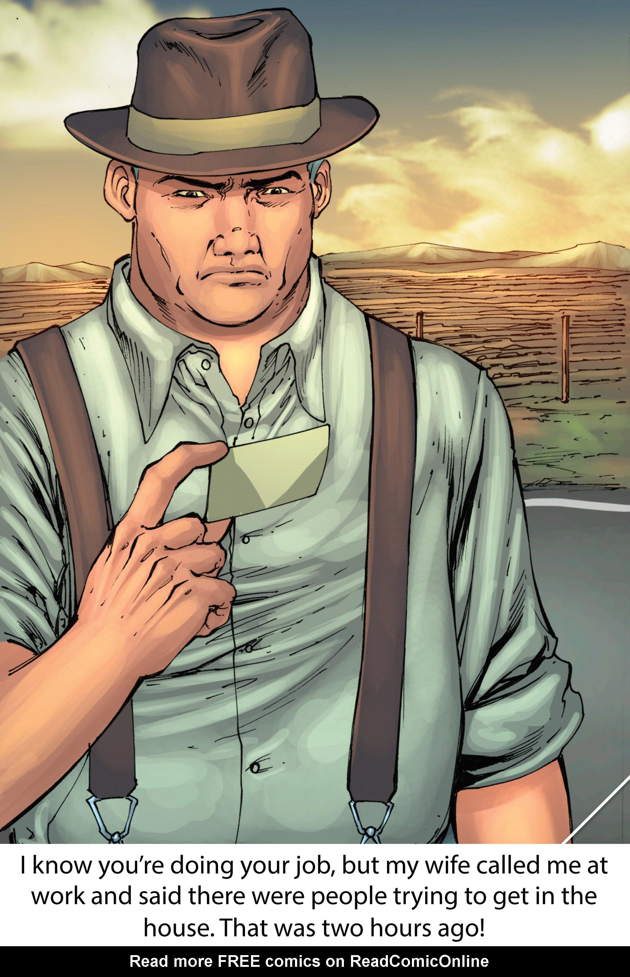 Read online Z-Men comic -  Issue #1 - 10