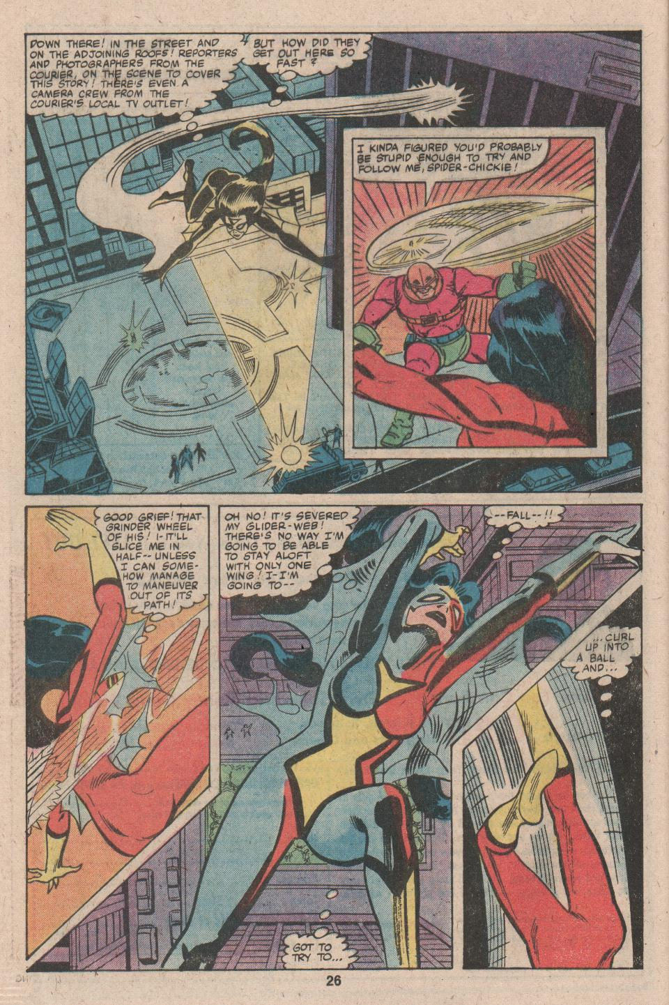 Spider-Woman (1978) Issue #26 #26 - English 16
