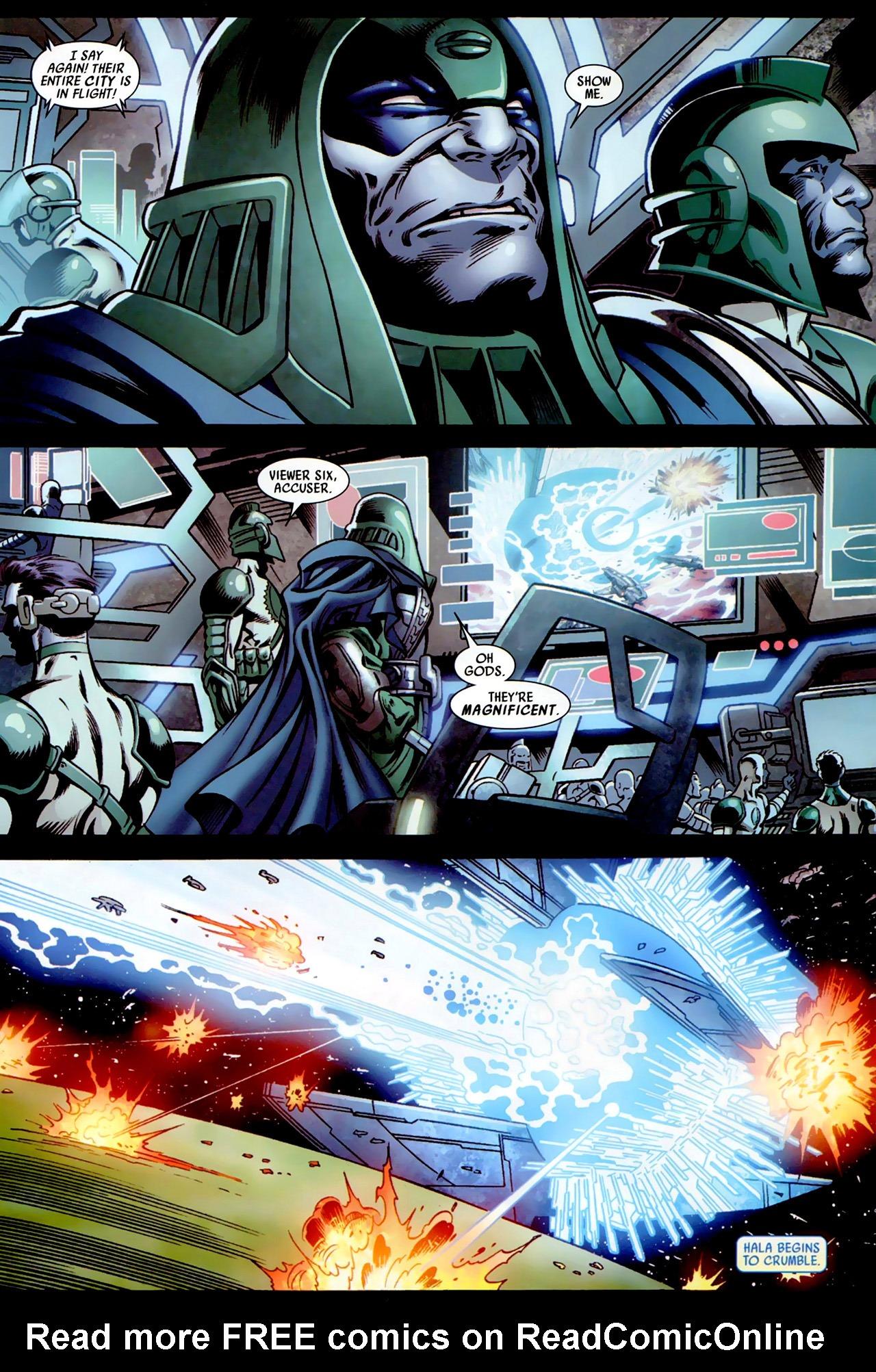 Read online Secret Invasion: War of Kings comic -  Issue # Full - 31