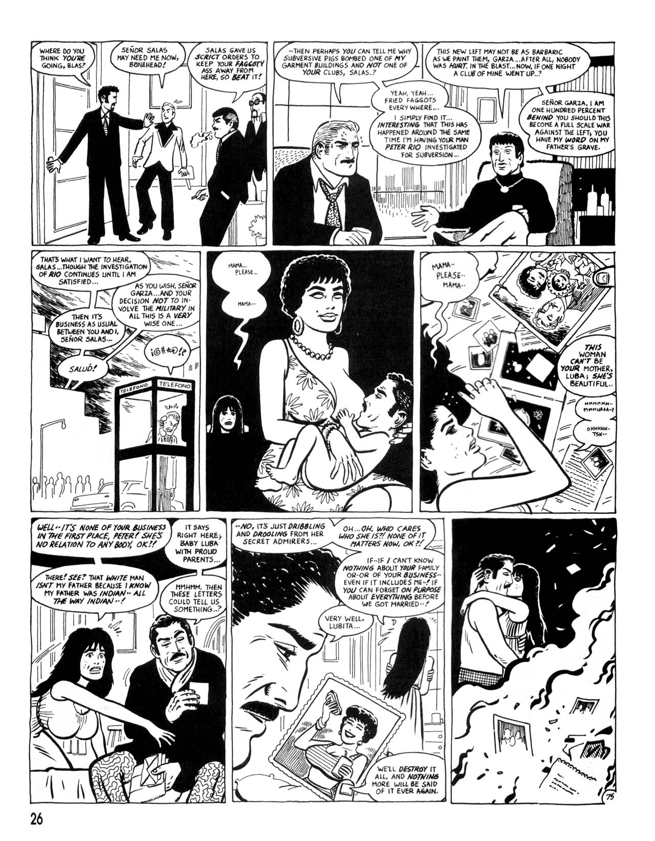 Love and Rockets (1982) #35 #35 - English 28