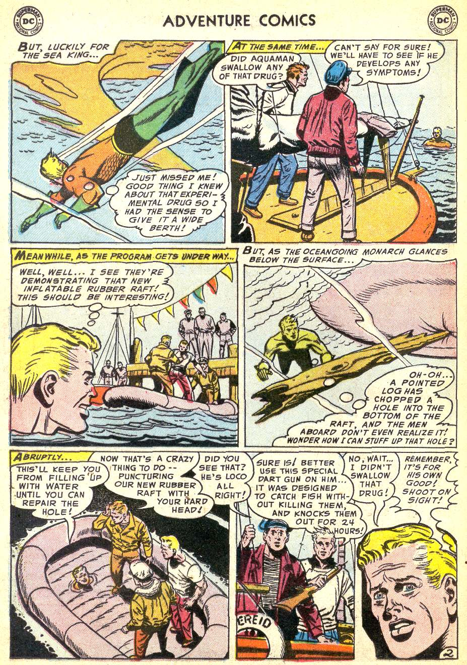 Read online Adventure Comics (1938) comic -  Issue #218 - 18