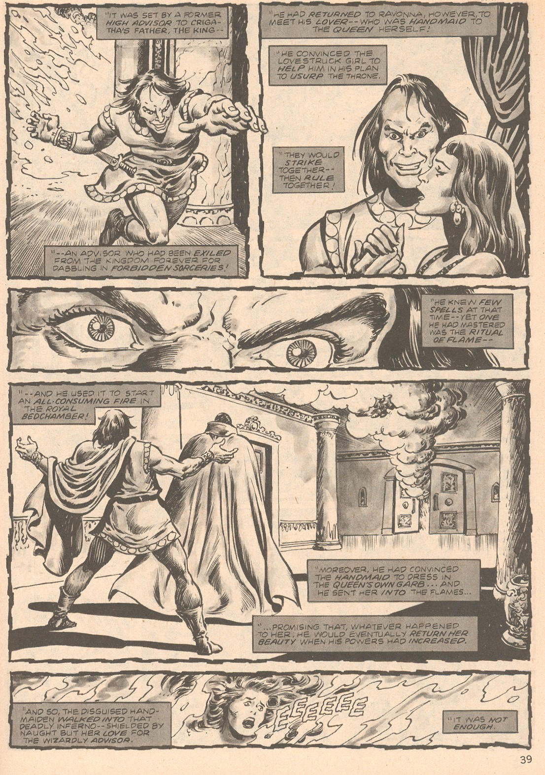 The Savage Sword Of Conan Issue #66 #67 - English 39