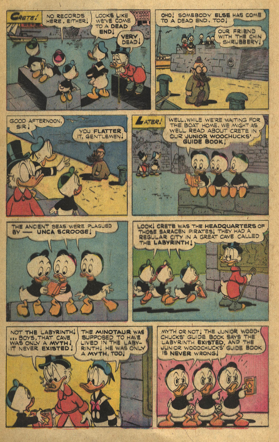 Uncle Scrooge (1953) Issue #132 #132 - English 12