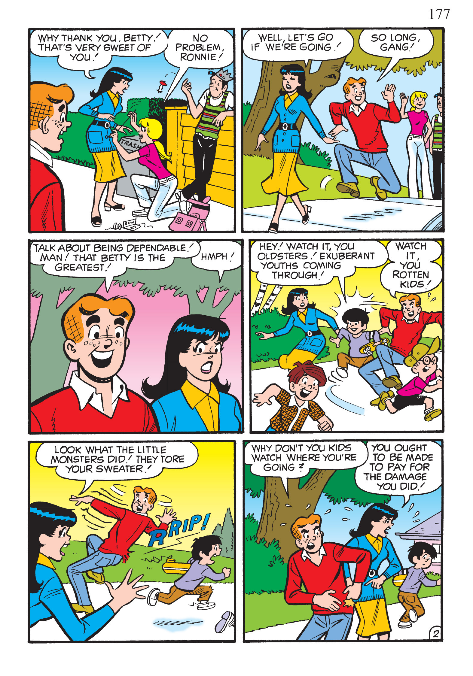 Read online The Best of Archie Comics comic -  Issue # TPB 2 (Part 1) - 179