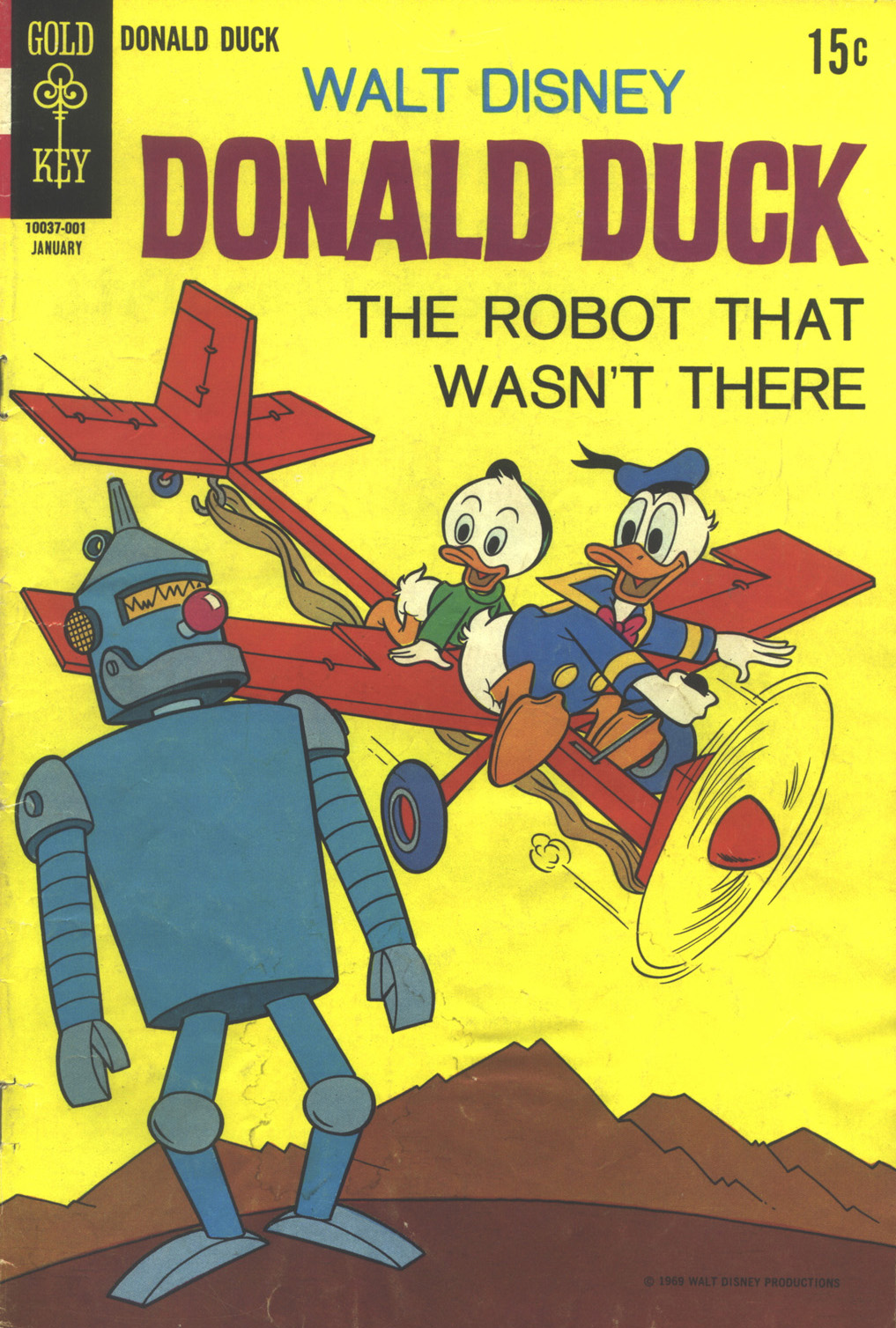 Donald Duck (1962) 129 Page 1