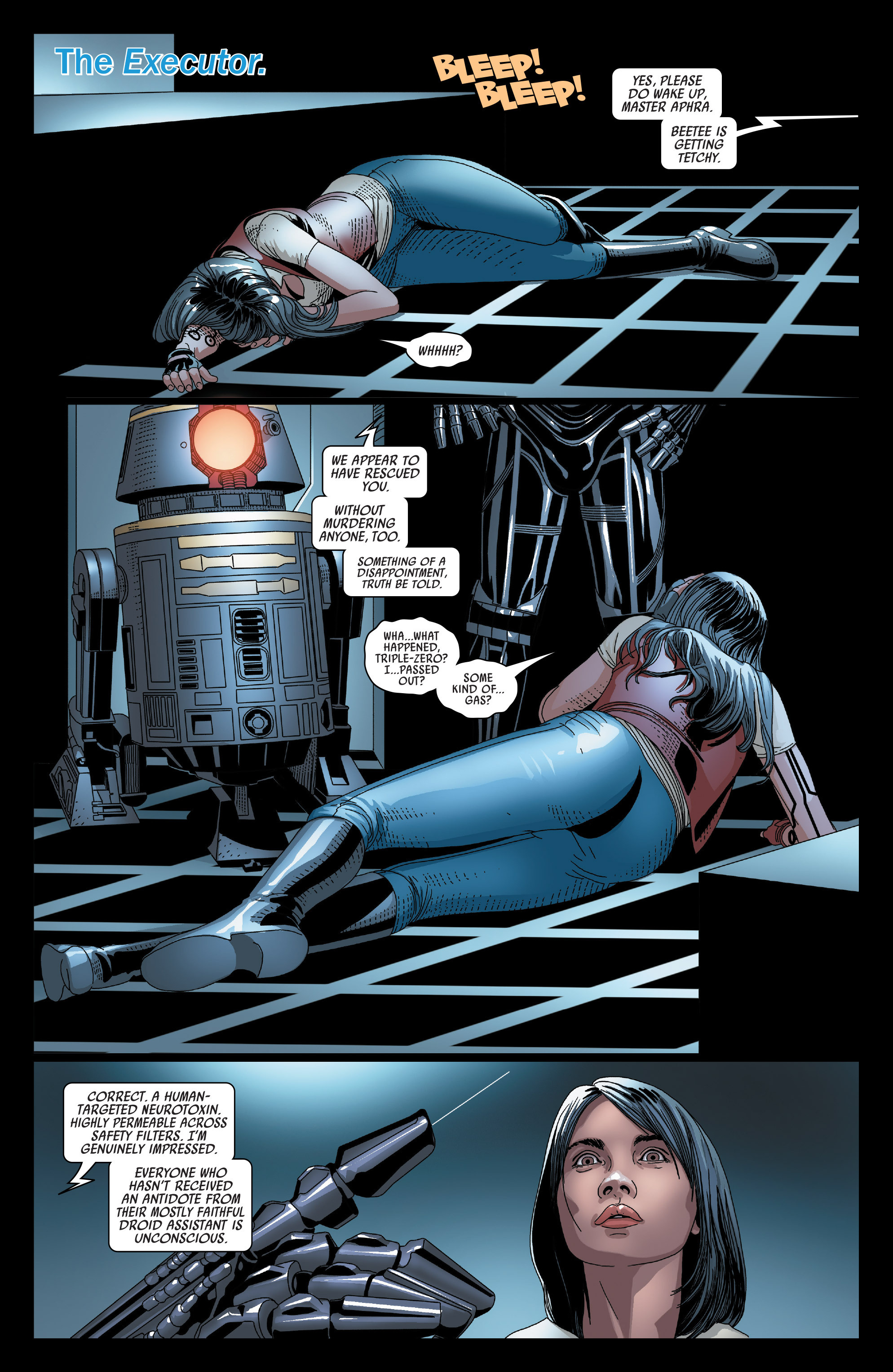 Read online Darth Vader comic -  Issue #23 - 3