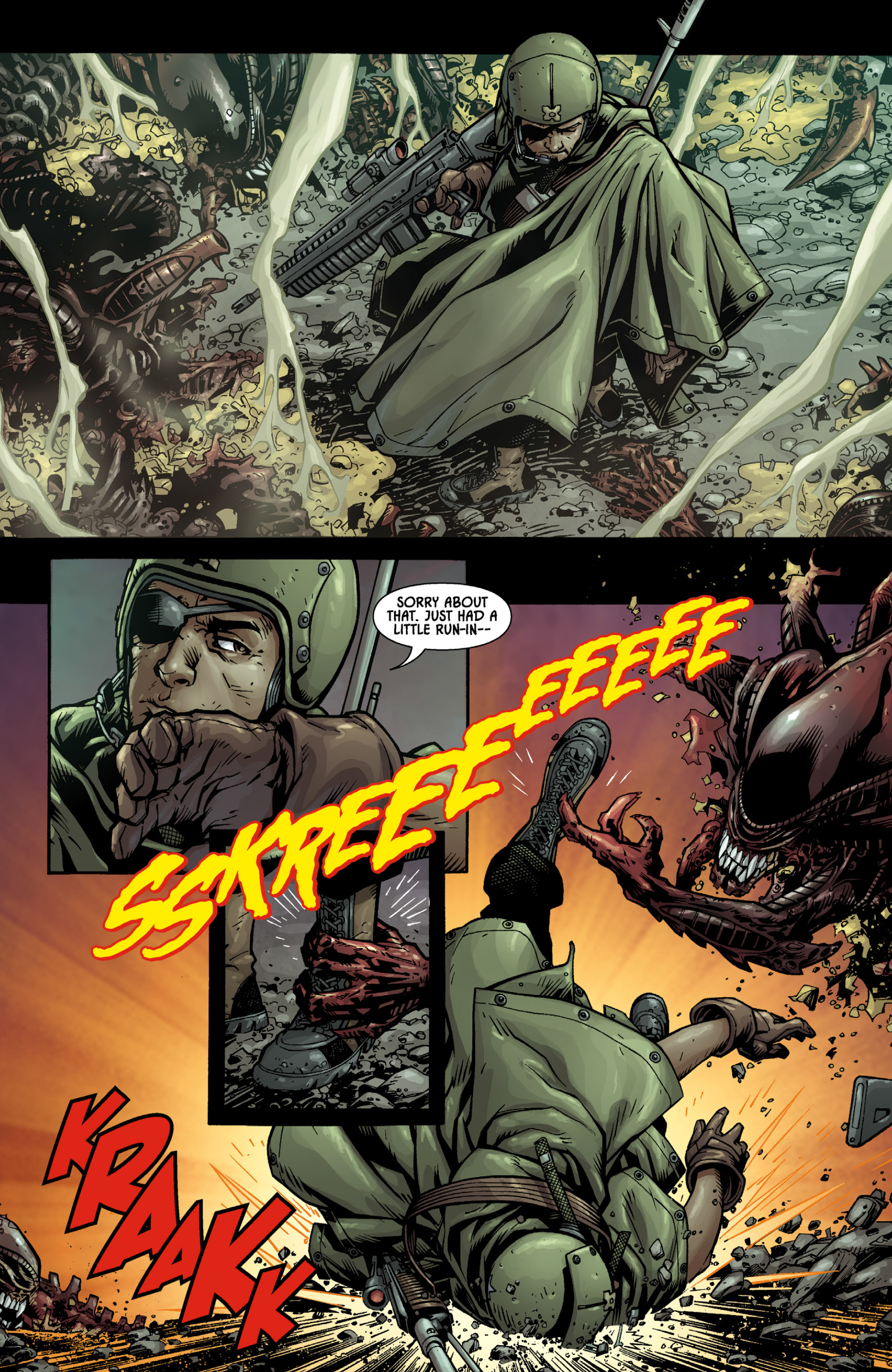 Aliens (2009) TPB Page 16