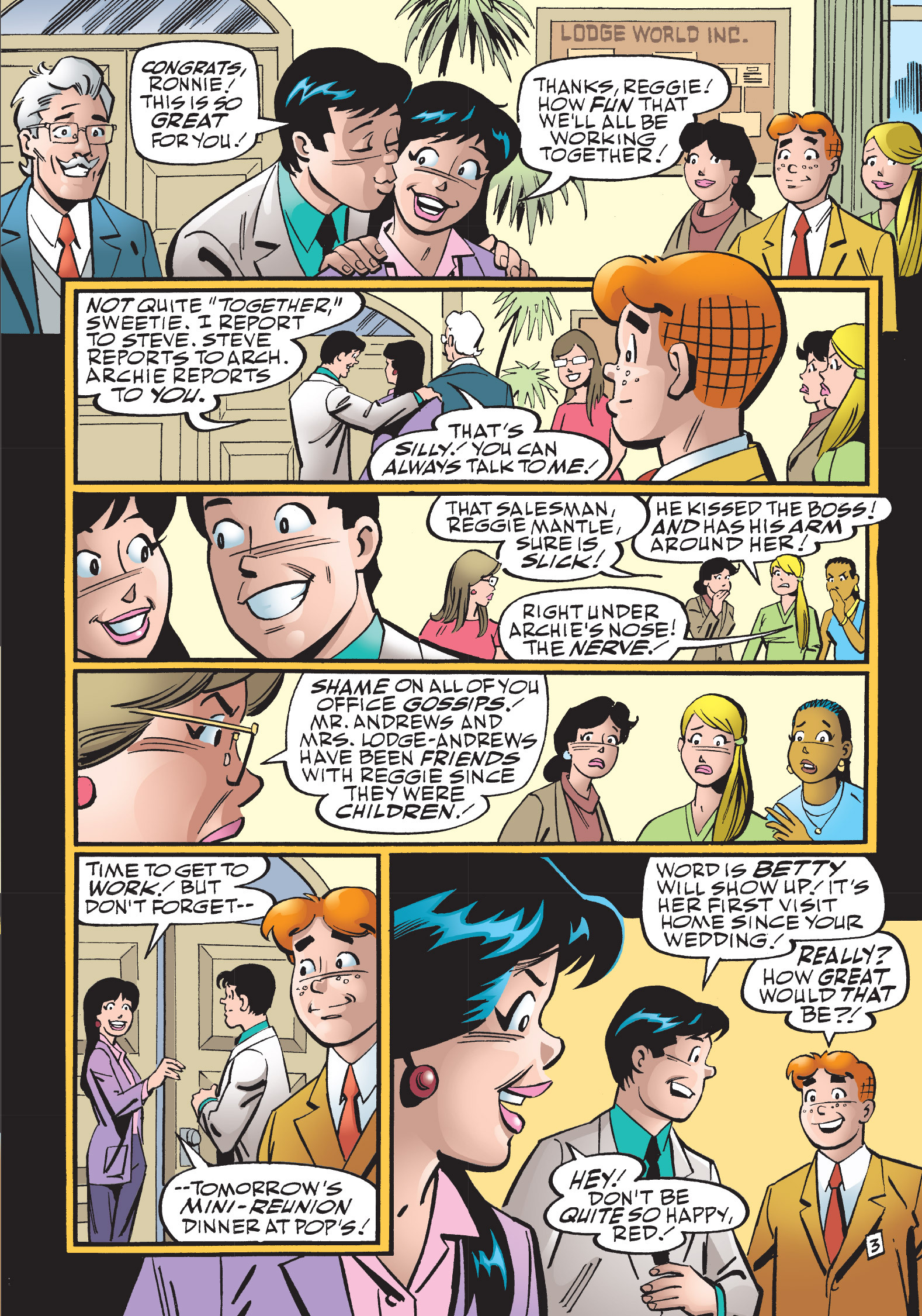 Read online The Best of Archie Comics comic -  Issue # TPB 1 (Part 2) - 146