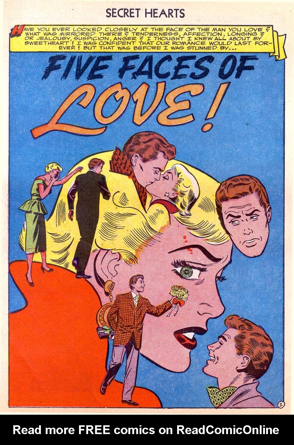 Read online Secret Hearts comic -  Issue #11 - 26