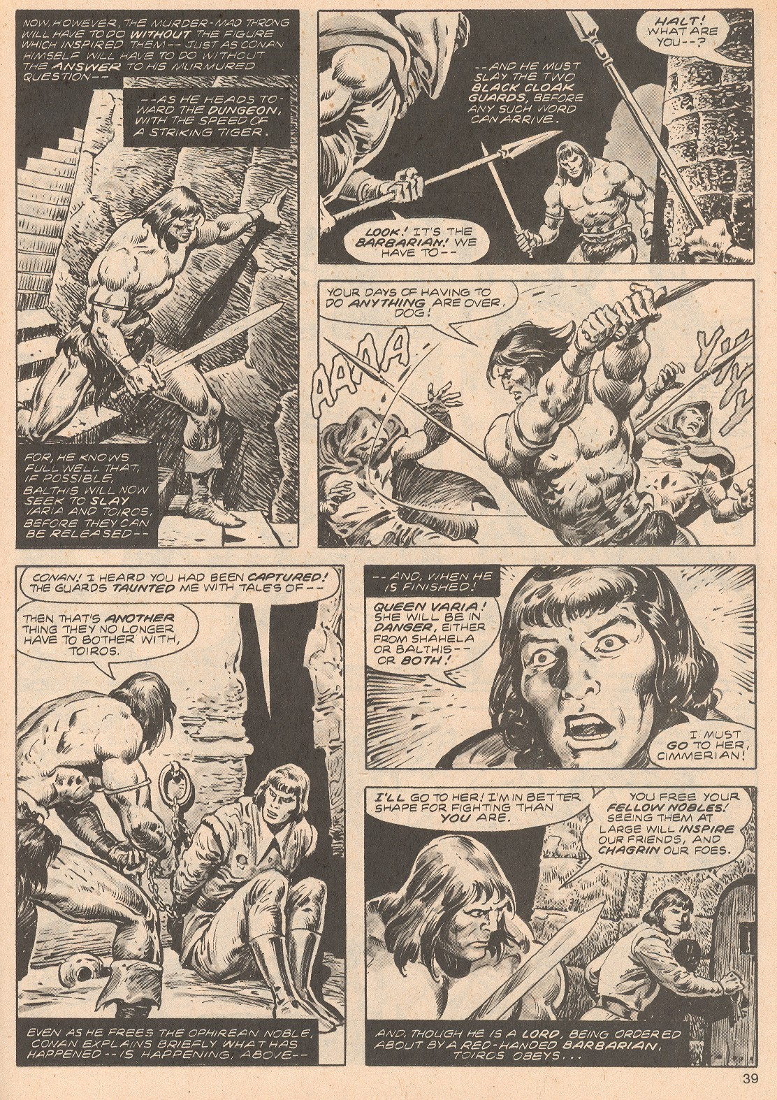 The Savage Sword Of Conan Issue #68 #69 - English 39
